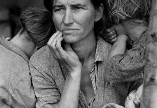 """Bức ảnh """"người mẹ di cư"""""""