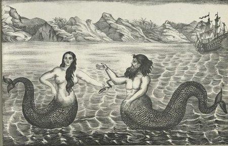 Bức tranh người cá