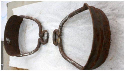 Cặp bàn đạp yên ngựa 1.100 năm tuổi